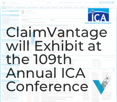 ClaimVantage Exhibits at the 109th Annual ICA Conference